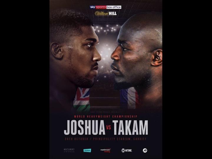 Infortunio per Pulev. Il 28 ottobre sarà Takam a sfidare Joshua per il Titolo Mondiale IBF WBA IBO Massimi a Cardiff