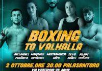 """Roma – """"Boxing to Valhalla"""": I Risultati della serata del PalaSantoro"""