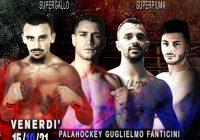 Il 15 Ottobre a Reggio Emilia DeBianchi vs Rigoldi per il Titolo Italiano SuperGallo – DIRETTA RAISPORT