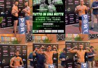 PESO FATTO! TUTTO PRONTO PER LA ROMA BOXING NIGHT – DIRETTA 2/10 GAZZETTA.IT & YOUTUBE FPIOFFICIALCHANNEL
